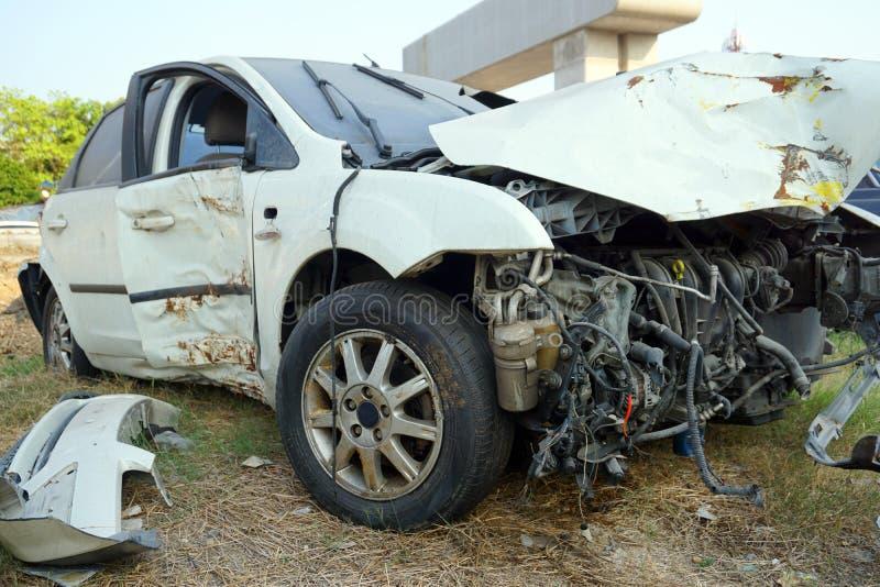 Defekter Motor- Unfall lizenzfreie stockfotos
