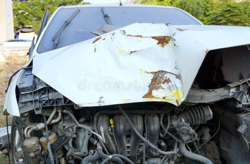 Defekter Motor- Unfall lizenzfreies stockbild