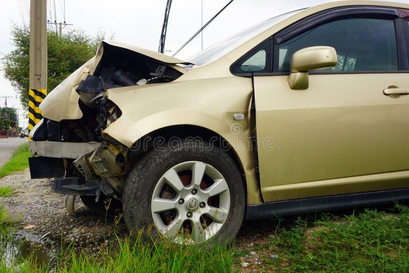 Defekter Motor- Unfall lizenzfreie stockbilder