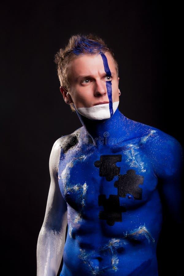 Download Defender-2 stock image. Image of model, blue, male, make - 22999167