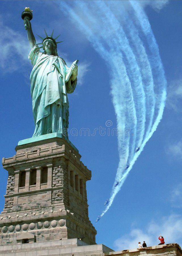 Defending Freedom royalty free stock photography