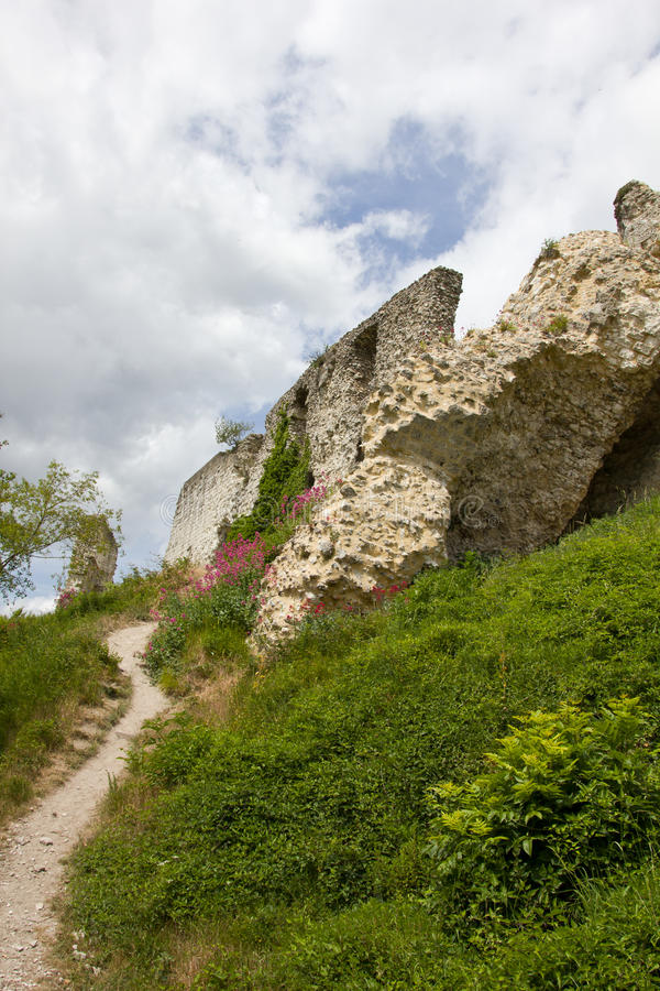 Download Defending walls in ruins stock image. Image of massive - 20928085