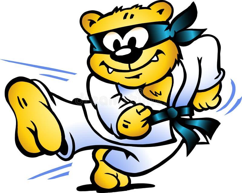 defens ilustracja ćwiczyć jaźń tygrysa royalty ilustracja