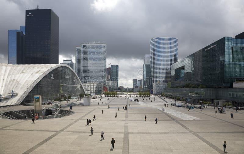 Defensa del La - París foto de archivo libre de regalías