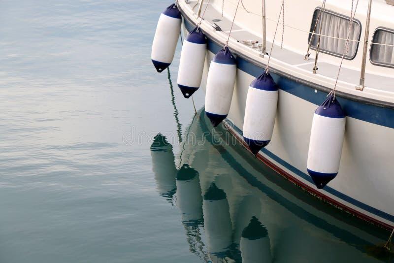 Defensas del barco fotos de archivo libres de regalías