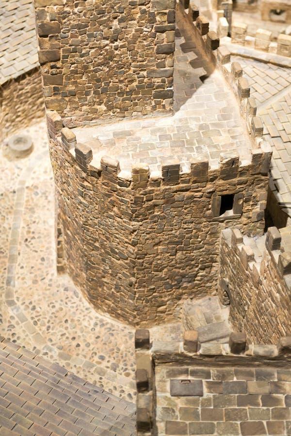 Defensie in Xavier Castle royalty-vrije stock afbeeldingen