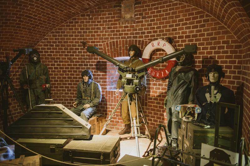 Defensive German Heavy Howitzer Morser From The World War