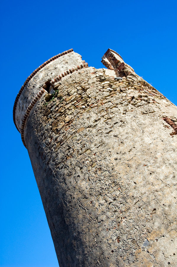 Download Defensive Tower Composition Stock Image - Image: 4014793