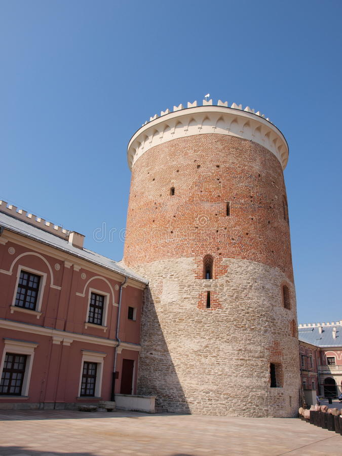 Free Defensive Tower, Lublin, Poland Royalty Free Stock Images - 32552749