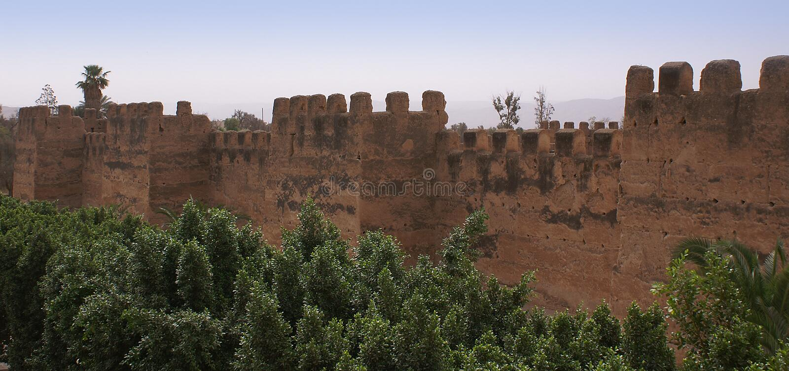 Download Defensive Wall In Toroudant Stock Image - Image: 28149403