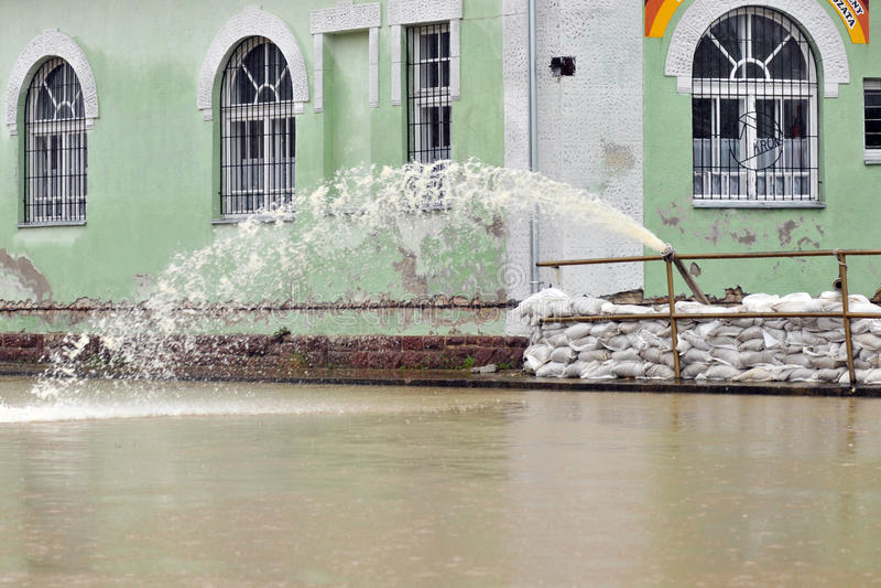 Defesa da inundação imagem de stock royalty free