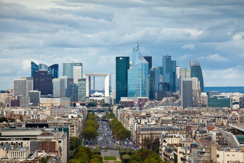Defesa do La, Paris foto de stock