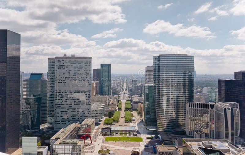 Defesa Paris do La fotos de stock royalty free