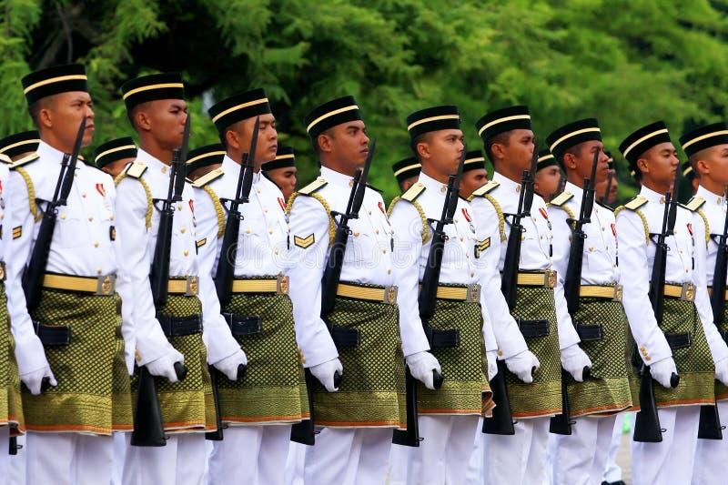 Defesa real de Malaysia imagens de stock