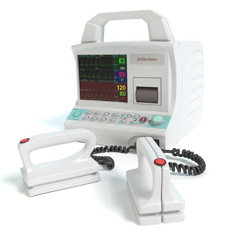 defibrillator ilustração do vetor