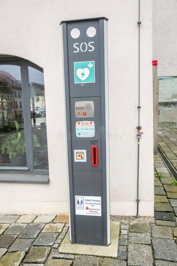 Defibrillator automat στοκ εικόνα