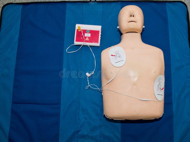 Defibrillatore esterno automatizzato fotografia stock libera da diritti