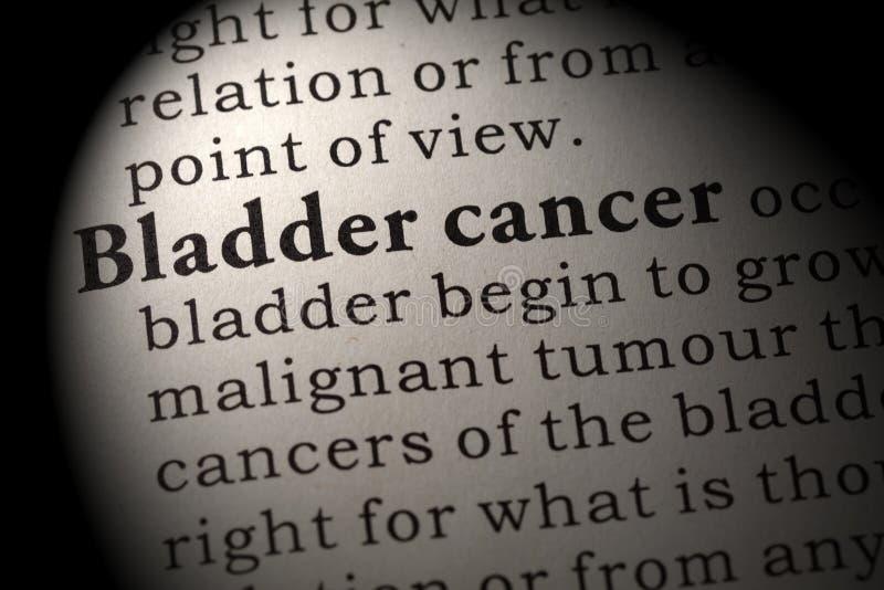 Definición del cáncer de vejiga imágenes de archivo libres de regalías