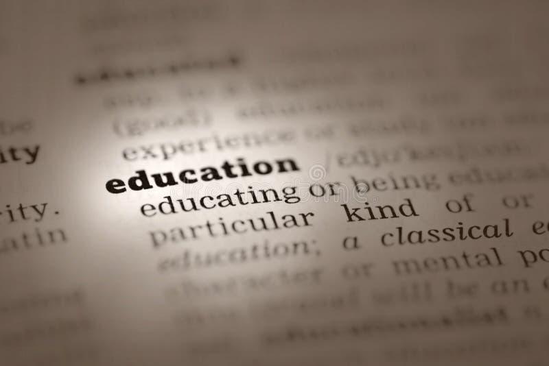 definici słownika edukacja zdjęcie royalty free
