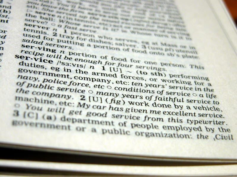 definicji usług zdjęcia royalty free