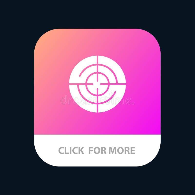 Definiera Gps, läge, mobil Appknapp för navigering Android och IOS-skåraversion royaltyfri illustrationer