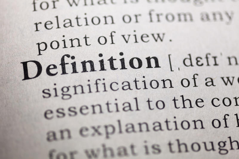 definition arkivbild