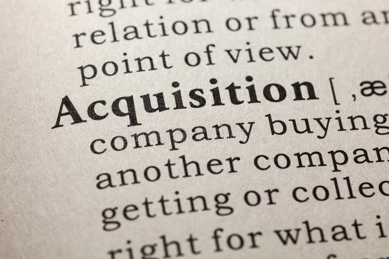 Definition of acquisition. Fake Dictionary, Dictionary definition of the word acquisition. including key descriptive words royalty free stock images