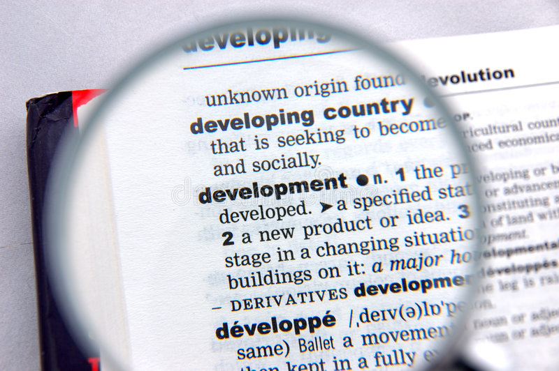 Download Definition of development stock image. Image of white, words - 958197