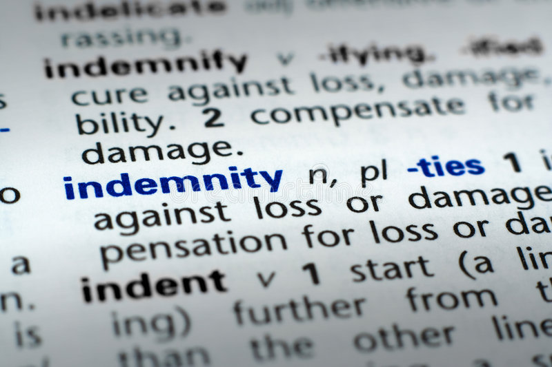 Definition of Indemnity stock image. Image of house, home ...