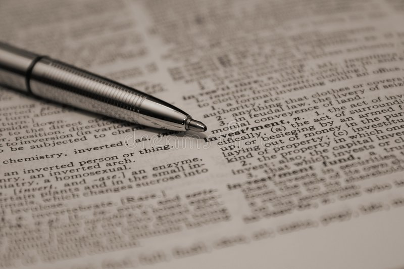 Download Definition Of Investment Royalty Free Stock Photos - Image: 523598