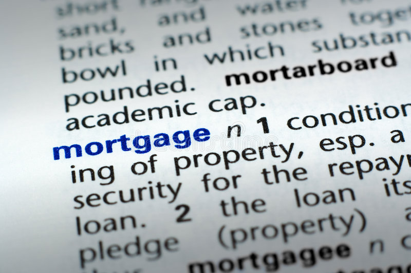 Download Definition Of Mortgage Royalty Free Stock Photo - Image: 6427425