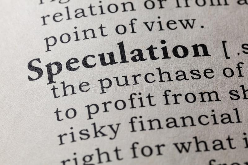Currency speculation definition