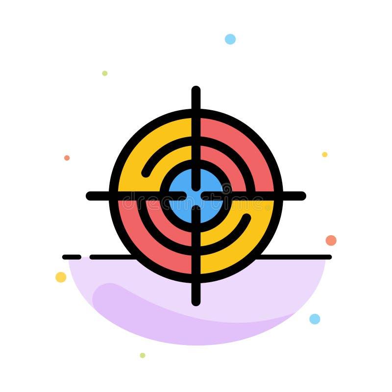 Definiuje, Gps, lokacja, nawigacja koloru ikony Abstrakcjonistyczny Płaski szablon ilustracji