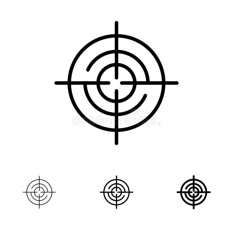 Definiuje, Gps, lokacji, nawigacji czerni linii ikony set, Śmiały i cienki royalty ilustracja