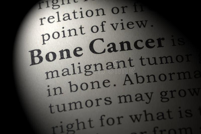Definizione di cancro alle ossa immagini stock libere da diritti