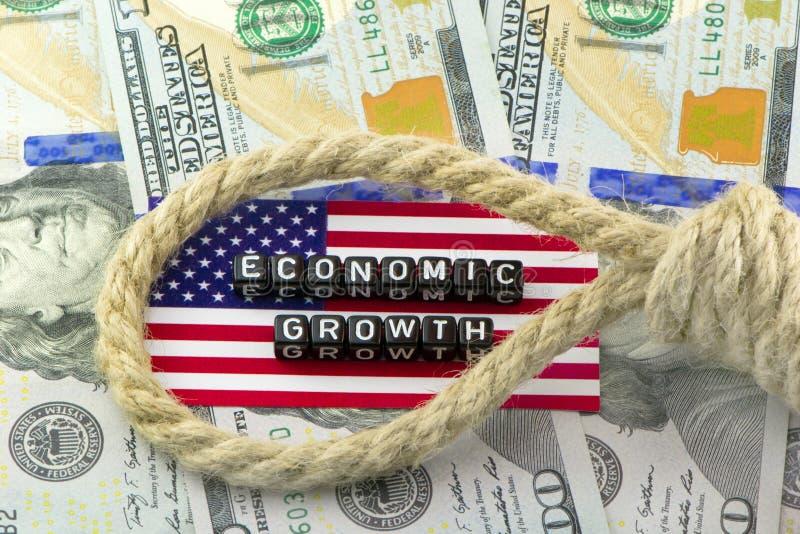 Deflazione dell'economia fotografia stock libera da diritti
