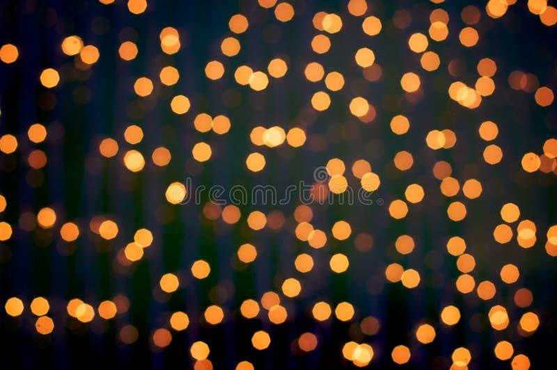 Download Defocus of golden lights stock image. Image of gold, funky - 7579761