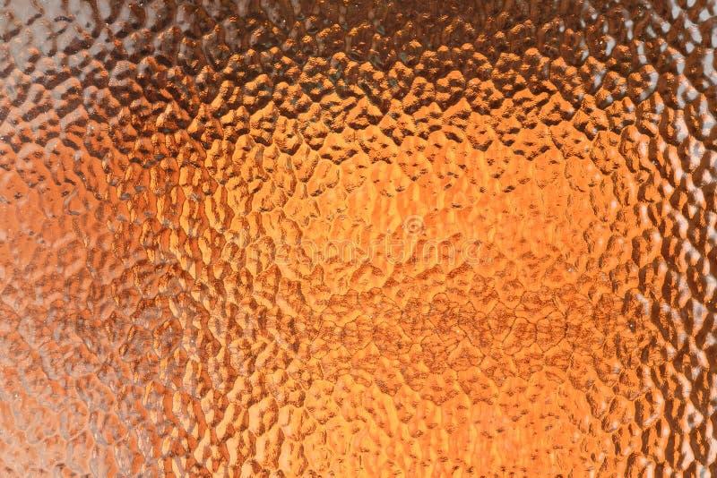 defocused抽象橙色的背景 库存图片