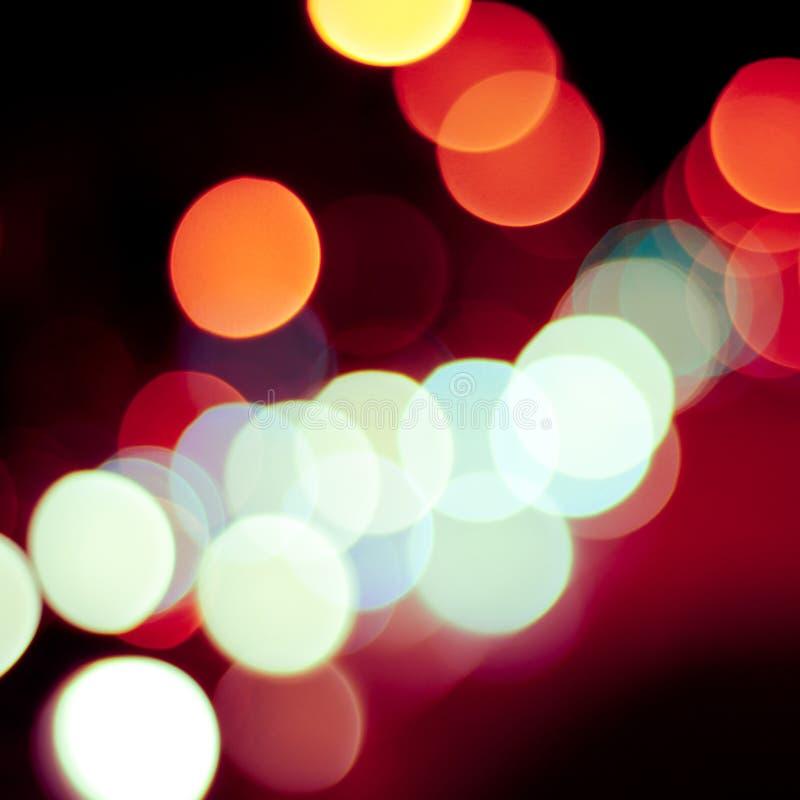 Download Defocused światła tło zdjęcie stock. Obraz złożonej z okrąg - 28974120