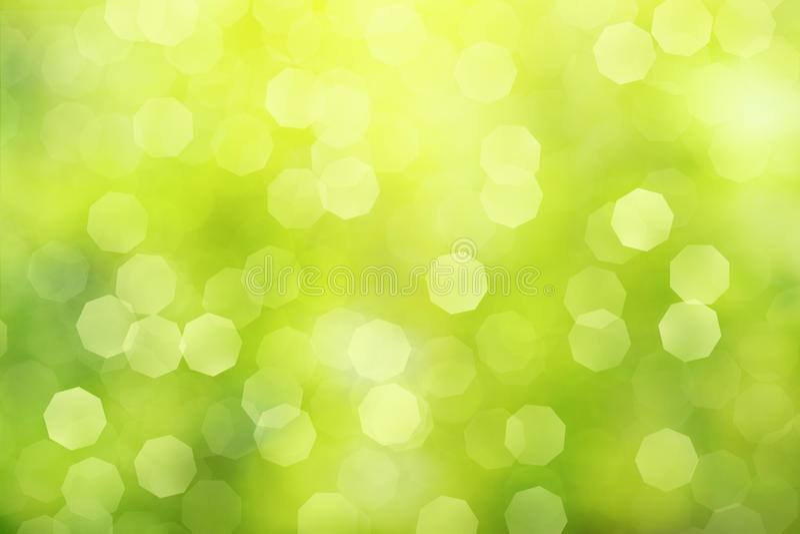 Defocused зеленая абстрактная предпосылка стоковое фото rf