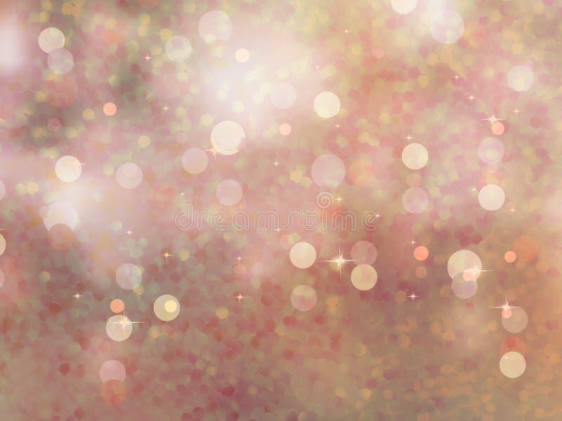 Defocused света beidge glitter иллюстрация штока