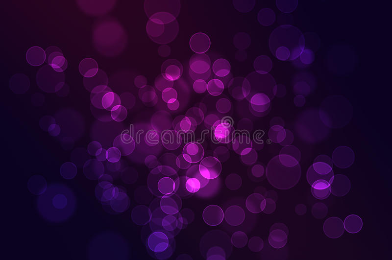 Download Defocused Abstract Bokeh Background Stock Illustration - Image: 17664194