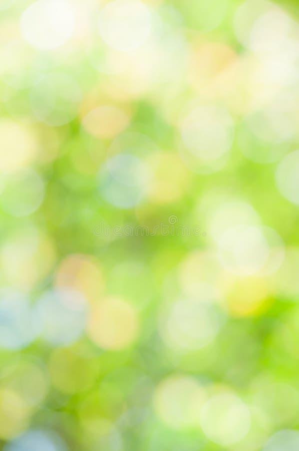 Defocused abstrakter grüner Hintergrund lizenzfreies stockfoto