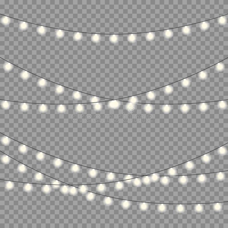 Defocused abstrakter Weihnachtshintergrund vektor abbildung