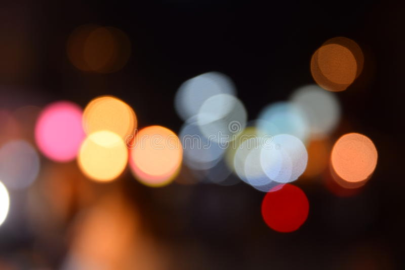 Defocused Bokeh假日光背景 抽象闪光明亮的背景 库存照片