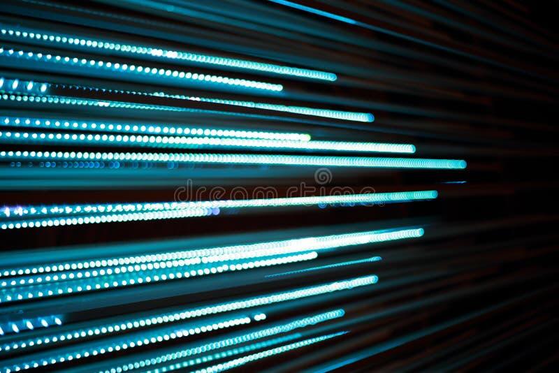 Defocused bokeh grafika światło linia zdjęcie stock