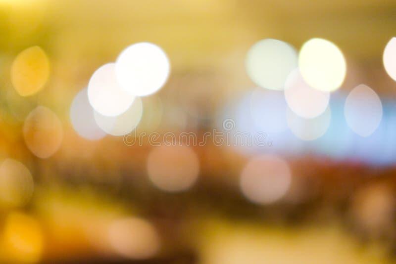 Download Defocused bokeh Lichter stockbild. Bild von effekt, festlich - 96934839