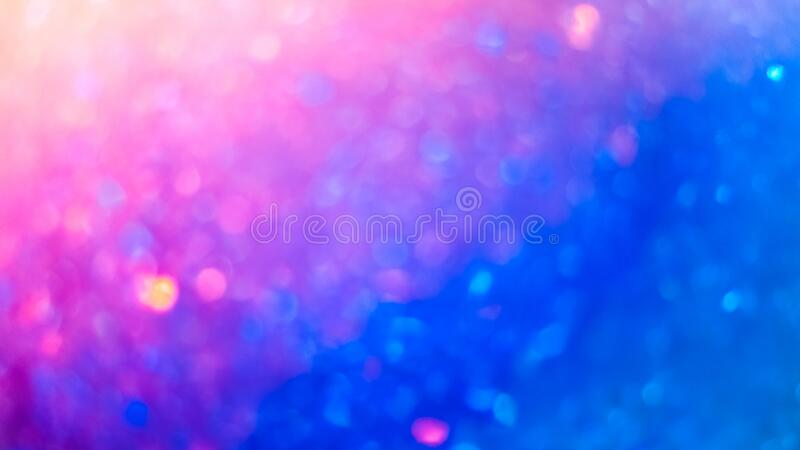 Defocused colorful bokeh texture. Bright saturated spring colors stock photography