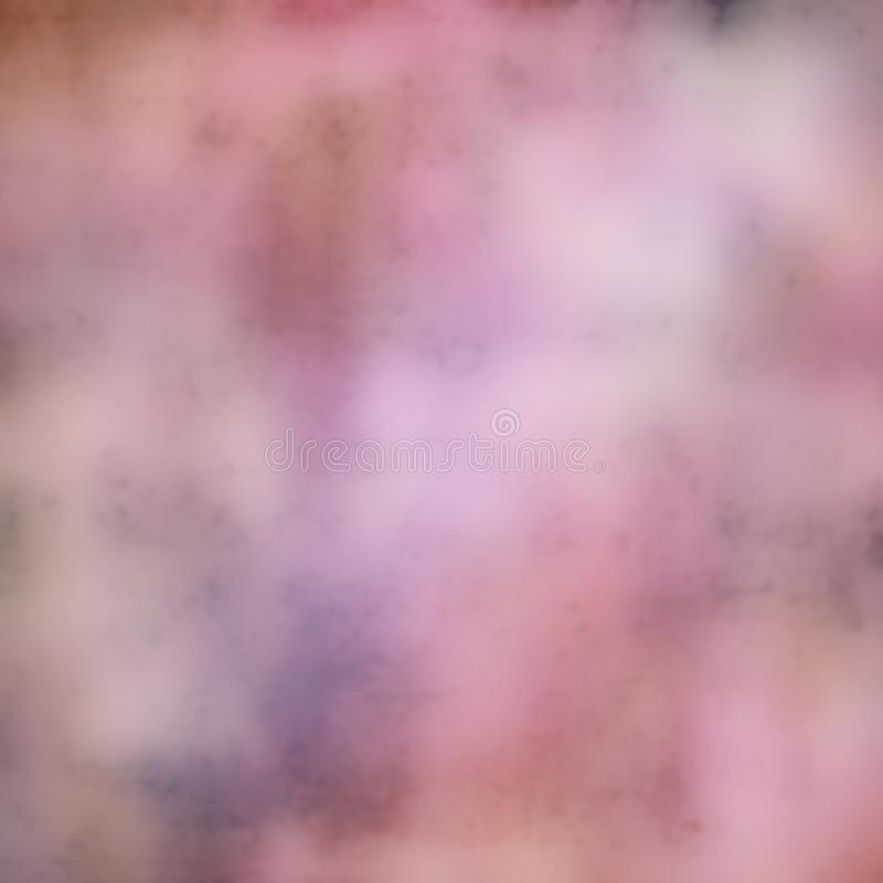 Defocused Digital Art Textured Effect Background in Pink and White royalty free stock image