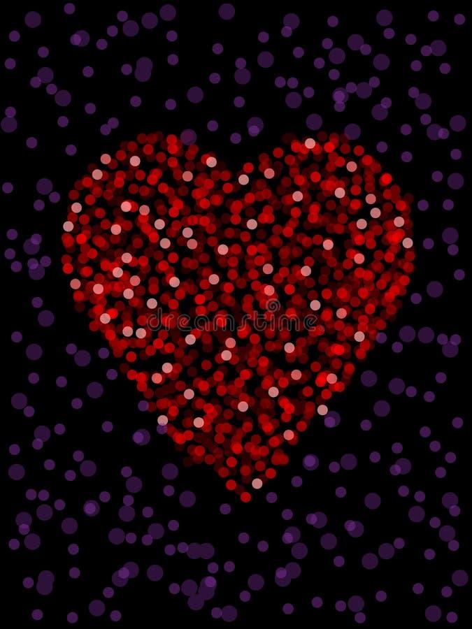 Download Defocused heart stock vector. Illustration of focus, unfocused - 16846588